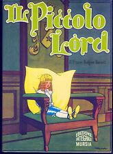 IL PICCOLO LORD - FRANCES HODGSON BURNETT
