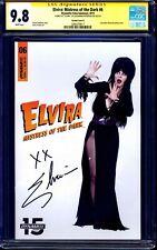Elvira Mistress of Dark #6 PHOTO VARIANT CGC SS 9.8 signed by Cassandra Peterson