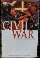 Civil War (2007) TPB Captain America vs. Iron Man Marvel Millar