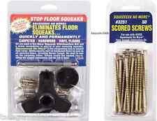 Squeeeeek No More KIT #3233 Eliminates Floor Squeak  and 50 pack Screws