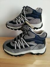 Timberland Mid Steeple Grey Boys Walking Boots Youth Size Uk 12.5 Eu 31 A1Q3P