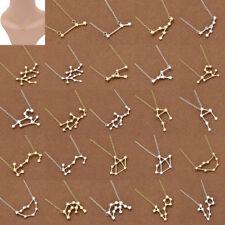 Collar de Astrología con Colgante del Diseño Elegante de Las Doce Constelaciones