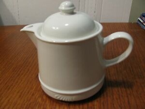 Hall Vintage Individual 12 Ounce White Teapot # 3385-Made in USA- MINT!