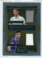 2016-17 Cristiano Ronaldo James Rodriguez Jersey Panini Select Double Team