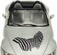 Zebra Pattern Stripes Vinyl Decal Car Hood Sticker Vehicle Auto Decor Art 1061