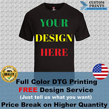 Personalized T-Shirts _ Custom Full Color DTG Printed T-Shirts