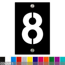Rectangle Modern Decorative Address Plaques