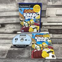Simpsons Road Rage (Sony PlayStation 2, 2001) Complete With Manual - TESTED PAL