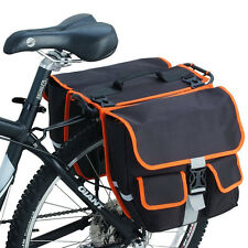 Bike Panniers Storage Container Rack Bag Cycling Messenger Bag with Detachable