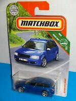 Matchbox 2019 MBX Road Trip #16 '02 Audi RS 6 Avant Blue