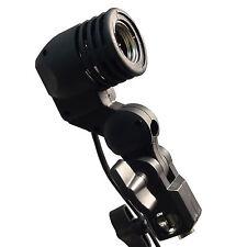 E27 Bulb Holder Socket Umbrella Swivel Bracket Photo Light Lamp Mount Flash Usa