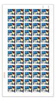 Australia 1964 5d Christmas Full Sheet 60 Stamps Autotron Top Righit SG372 8-48