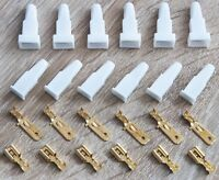 Ramses Steckverteiler unisoliert 6,6 x 0,8 mm  100 Stück