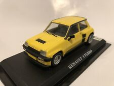 Del Prado Yellow Renault 5 Turbo Diecast Car Model 1:43 Scale