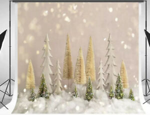 Kate10ft(W) X 10ft(H) Christmas Tree with Glitter Backdrop Bokeh Dots Christm...