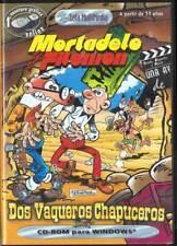 Mortadelo y Filemón. Dos Vaqueros Chapuceros. Juego para PC CD Rom