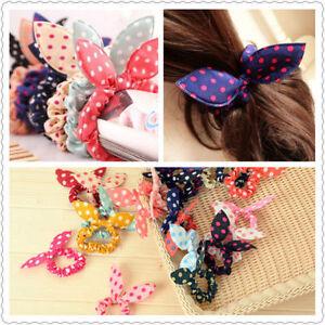 Brand new Multi colors hair Scrunchie elastic rabbit style