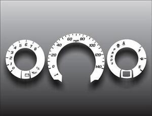 2009-2010 Honda Fit Dash Instrument Cluster White Face Gauges