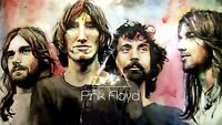Pink Floyd Band Portrait Album Cover Canvas Art Poster Print Wall David Gilmour