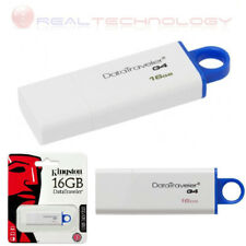 PENDRIVE USB 3.0 16GB CHIAVETTA PENNA 16 GB CHIAVE KINGSTON MEMORIA DTIG4/16GB