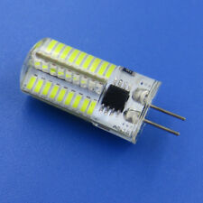 10pcs G4 Bi-Pin T5 72 4014 SMD LED Crystal Light Bulb White 120V Equivalent 50W