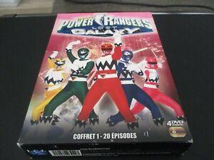 "COFFRET 4 DVD ""POWER RANGERS : LOST GALAXY, BOX 1"""