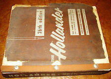 Hollander Parts Interchange Manual 53 54 55 56 57 58 59 Cadillac Buick Chrysler