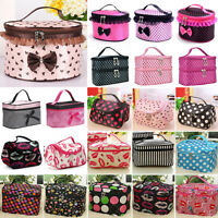 Women Multifunction Makeup Cosmetic Bag Case Travel Toiletry Storages Organizer