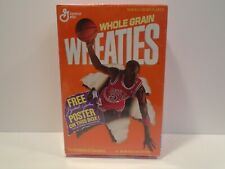Wheaties Michael Jordan Cereal Box Poster - 1989 Factory Sealed