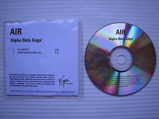 AIR - Alpha Beta Gaga (91 BPM Edit) (Mark Ronson Remix Edit) PROMO COPY DJ CD