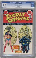 Secret Origins #3 CGC NM+ 9.6 Monterey Wonder Woman