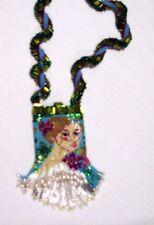 Designer Jewelry - Lady Iris Amulet Bag - Pearls!