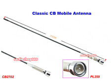 27MHz 2dB Gain CB Mobile Antenna PL259 Connector 71cm Length CB2702