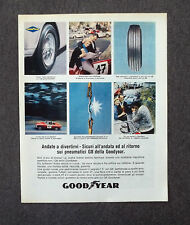 G860 - Advertising Pubblicità - 1965 - GOODYEAR PNEUMATICI G 8