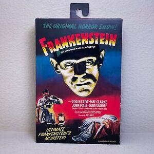 NECA Ultimate Frankenstein Monster Walmart Exclusive Figure In Hand Ships Now!