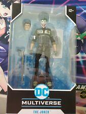 DC Multiverse The Joker: Batman White Knight #8 Action Figure New