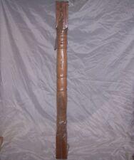 Stair Newel Post 48 in. x 3-1/2 in. Interior Stainable Paintable hemlock Wood