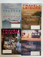 Travel & Leisure Magazine-Lot of (4) February March April June , 2020-NEW