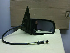 1985 - 1991 Pontiac Grand Am RH passenger door mirror manual remote OEM Black