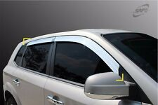 SAFE Chrome Sun Window Visor 4EA 1Set K 634 For Hyundai Tucson 2006 2010