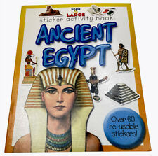 Ancient Egypt Little & Large Sticker Activity Book by Bardfield Press 2006