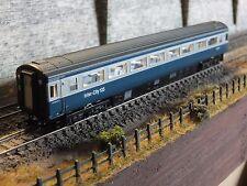 2P-005-037DCC NEW DAPOL N GAUGE MK3 2ND CLASS COACH BLUE GREY E42101 HST