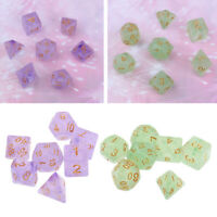 14 Polyhedral Dice Set for DND Dungeons & Dragons RPG Playing Game New
