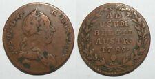 1 piece de 2 Liards Bronze Autriche / Pays Bas 1789 ( 001 )
