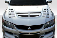 2003-2006 Mitsubishi Lancer Evolution 8 9 Duraflex VT-X Hood - 1 Piece Body Kit