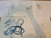 Simpsons Homer Original Art Animation Cells Production Lot 5pcs
