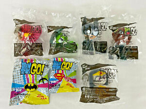 New Unopened Sonic Teen Titans GO Wacky Pack Toy 2020 NIP - 7pc Set