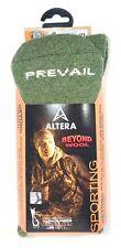 "ALTERA SPORTING ""PREVAIL"" 1-PR ALPACA+1% SILVER CREW SAGE SZ XL FIT 12-14 SHOE"