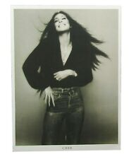 Cher Vintage Photo Classic B&W Image Lithograph Wall Poster New Official Merch