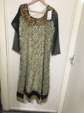 Indian/Pakistani/Salwar Kameez Ladies/Girls/ Eid/Party/Fancy Net Dress. L Size